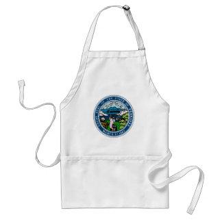 Nebraska State Seal Standard Apron