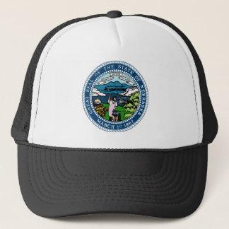 Nebraska State Seal Trucker Hat