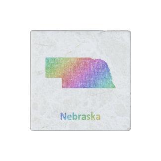Nebraska Stone Magnet