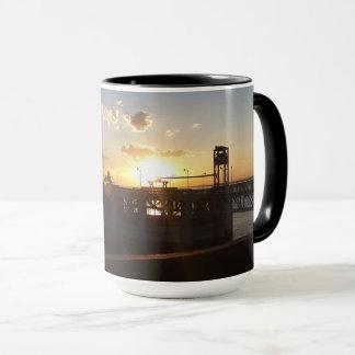 Nebraska Sunset at Lake Ogallala Mug