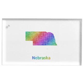 Nebraska Table Card Holder