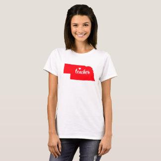 Nebraska Teacher Tshirt