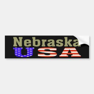 Nebraska USA! Bumper Sticker
