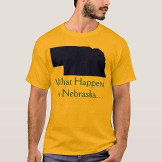 Nebraska What Happens T-Shirt