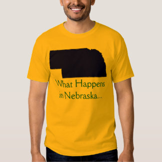 Nebraska What Happens Tshirts