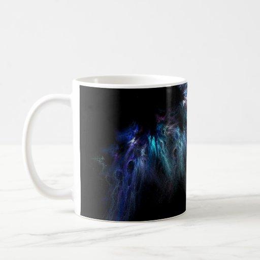 Nebula abstract mug