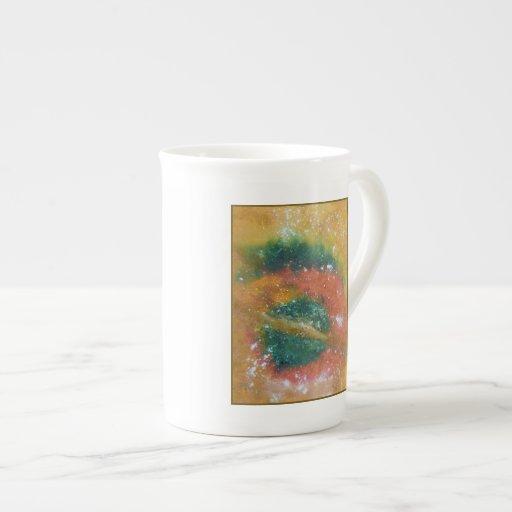 Nebula and Planets. Porcelain Mugs