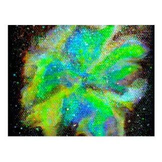 Nebula and Stardust Cosmic Space Scene Postcard