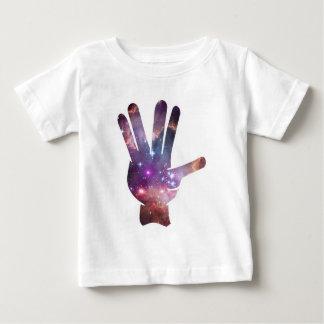 Nebula Hand Print Baby T-Shirt