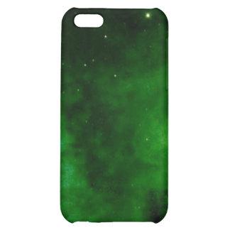 Nebula in Alien Green iPhone 4 case