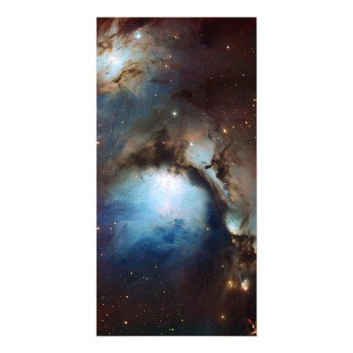 Nebula Messier 78 Space Astronomy Customized Photo Card