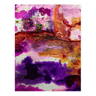Nebula Painting Series Postcard
