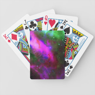Nebula Space Photo Bicycle Playing Cards