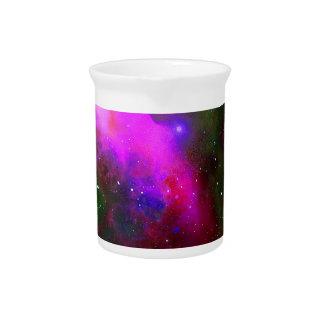 Nebula Space Photo Pitcher