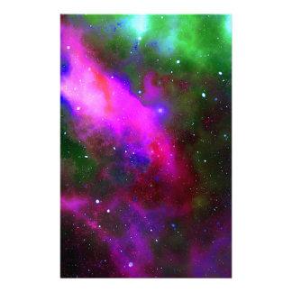 Nebula Space Photo Stationery