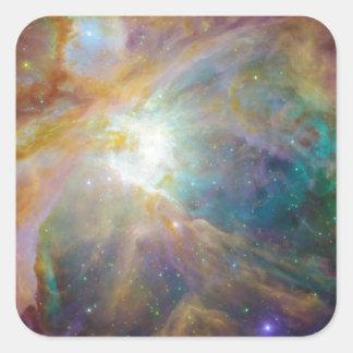 Nebula Square Sticker