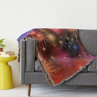 Nebula Star Clusters Throw Blanket