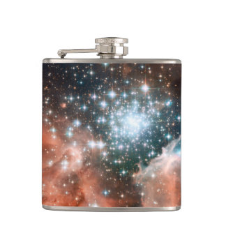 Nebulae Galaxy Flask
