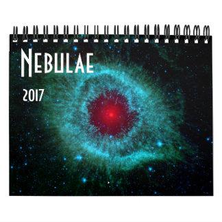 Nebulae Space Astronomy 2017 Universe NASA Calendar