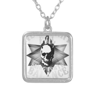 Necessary Evil Silver Plated Necklace