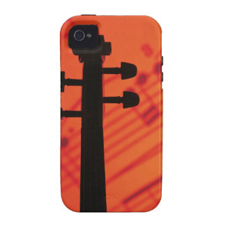 Neck of Violin Case For The iPhone 4