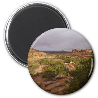 Neck Springs Trail at Canyonlands National Park 6 Cm Round Magnet