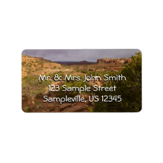 Neck Springs Trail at Canyonlands National Park Address Label