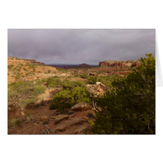 Neck Springs Trail at Canyonlands National Park Greeting Card