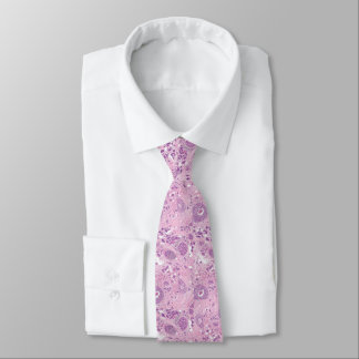 Neck Tie - Breast Cancer Cells