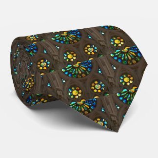 Neck Tie Church Wall Star Stained Windows on Gifts