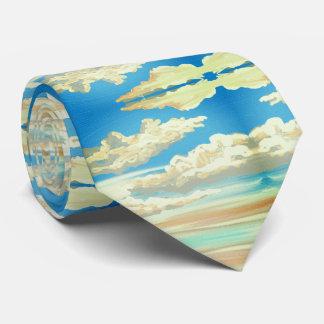 "neck tie ""Sky"""
