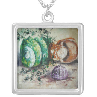 Necklace Ann Hayes Painting Sea Shells