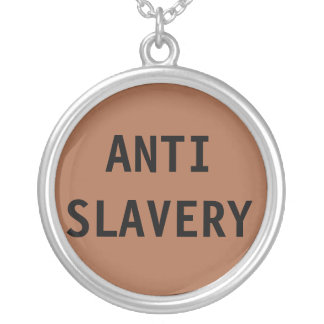 Necklace Anti Slavery Brown
