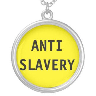 Necklace Anti Slavery Yellow