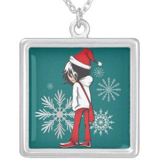 Necklace Emo Kid Christmas