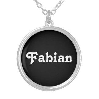 Necklace Fabian