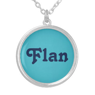 Necklace Flan