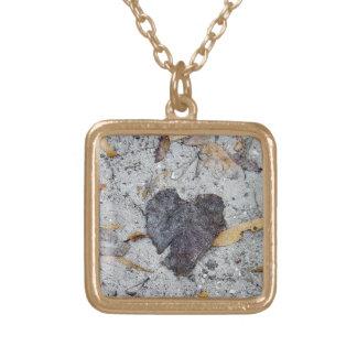 Necklace - Heart Leaf (Gold)
