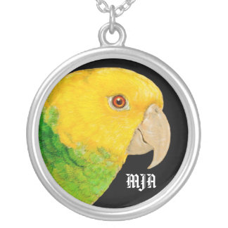 Necklace Initials Template - Parrot
