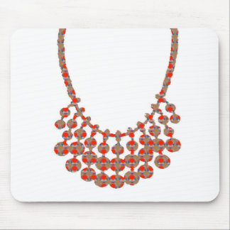 NECKLACE Jewel Graphic on GIFTS by NAVIN JOSHI Mouse Pad