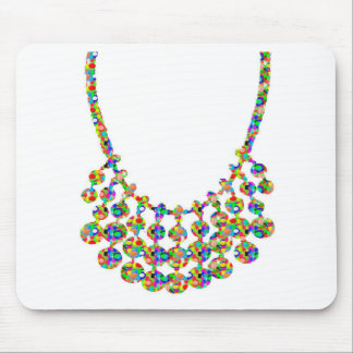 NECKLACE Jewel Home Decorations: by NAVIN JOSHI Mouse Pad