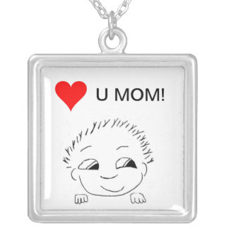 Necklace - Love Mom