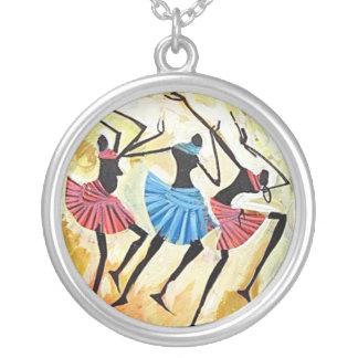 Necklace - Maasai dancing