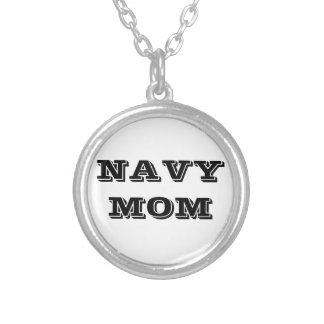 Necklace Navy Mom