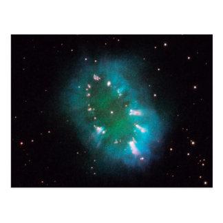 Necklace Nebula Hubble Space Postcard