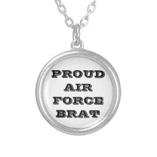 Necklace Proud Air Force Brat