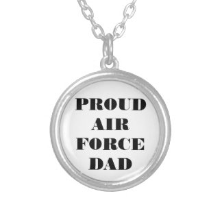 Necklace Proud Air Force Dad