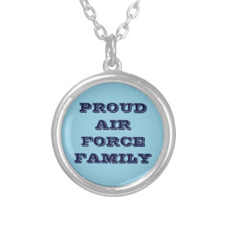 Necklace Proud Air Force Family