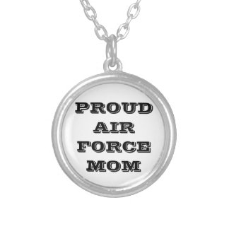 Necklace Proud Air Force Mom