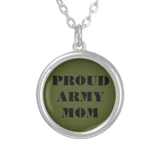 Necklace Proud Army Mom